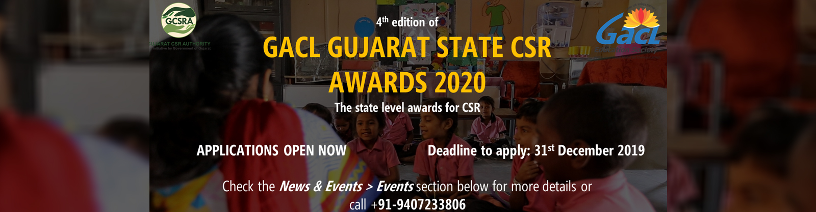 GACL Gujarat State CSR Awards 2020