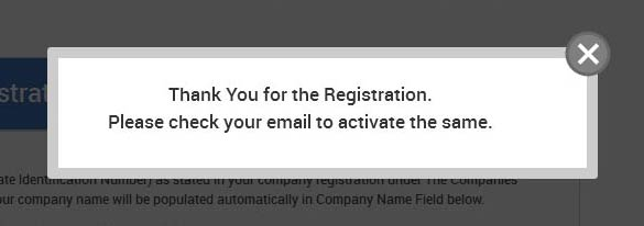Registration Completed Successfull